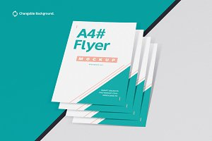 Posters & Flyers Mockups Vol.2