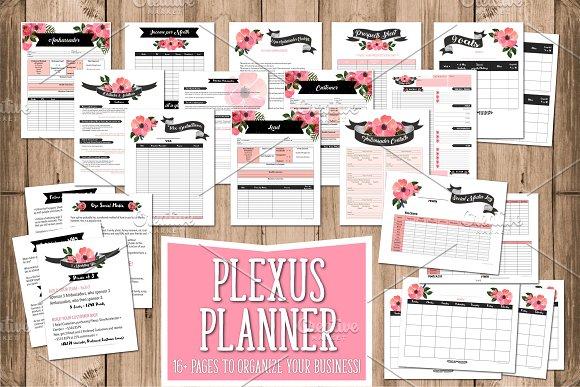 Plexus Planner in Chalkboar-Graphicriver中文最全的素材分享平台