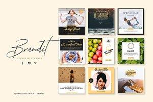 Brandit Social Media Pack