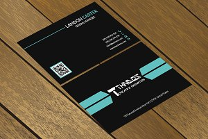 CT059 Corporate business card