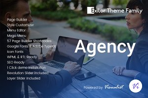Exilor Agency Theme
