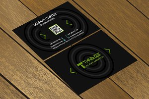 CT060 Corporate business card