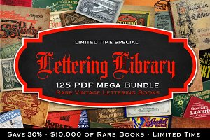 Lettering Library Bundle