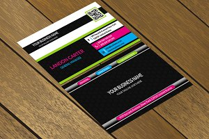 CT062 Corporate business card