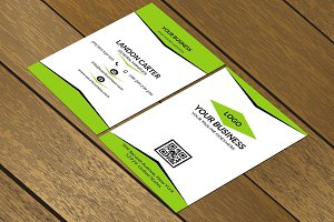 CT064 Corporate business card