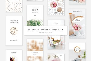 Crystal Instagram Stories Pack