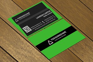 CT065 Corporate business card