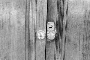 Vintage Door Detail