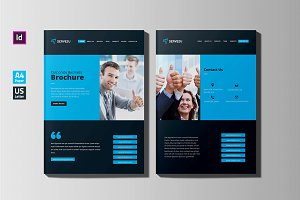 Website Style Brochure Design