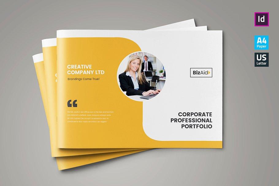 Company Profile / Landscape ~ Brochure Templates ~ Creative