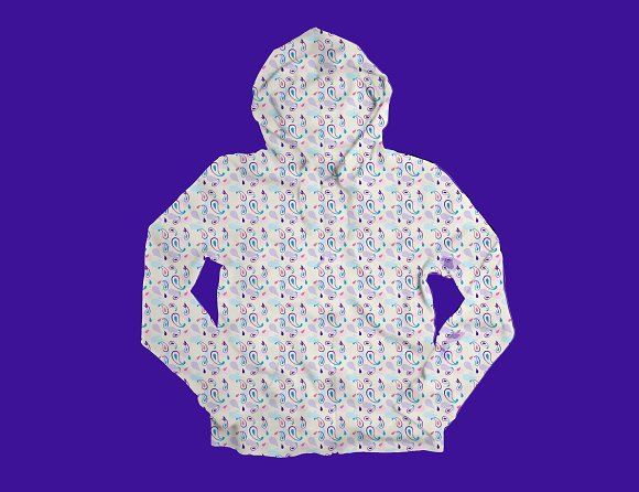 Seamless Paisley Pattern in Patterns - product preview 1