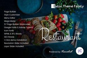 Exilor Restaurant WordPress Theme