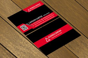 CT067 Corporate business card