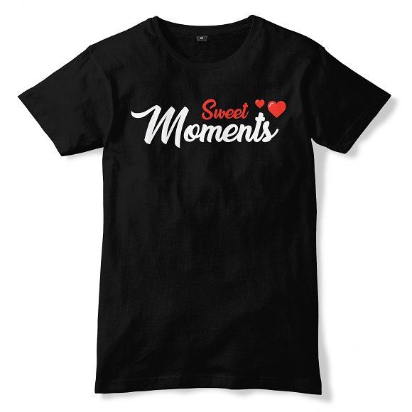 SWEET MOMENTS T-shirt Design 09
