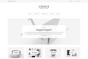 Grace - Minimal WordPress Blog Theme