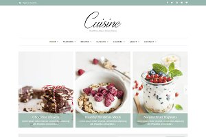 Cuisine - Blog & Recipe Theme