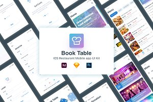 BookTable App UI Kit
