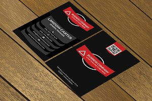 CT071 Corporate business card