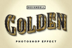 Golden Photoshop Effect