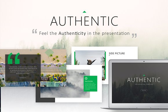 Authentic Powerpoint Template