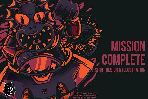 Mission Complete Illustration