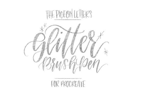 Procreate Glitter Brush