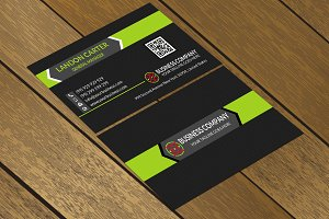 CT073 Corporate business card