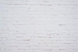 White brick stone blocks wall background and texture.