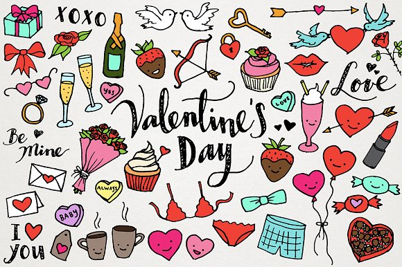Valentine's Day and Love Clipart