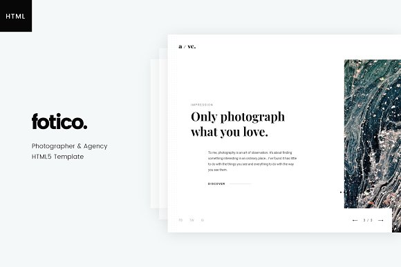 Fotico Photography HTML Template