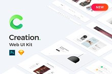 Creation Kit 1700+ Blocks, 250+ Page by Creation Studio in Websites