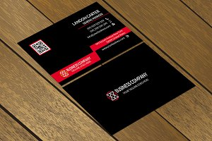 CT076 Corporate business card