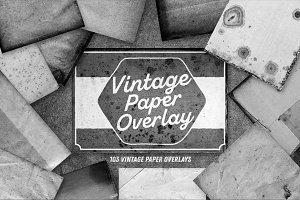 Vintage Paper Overlay