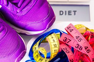 diet and slimming concept