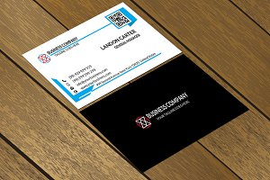 CT077 Corporate business card