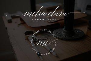 Melia Clara Premade Logo