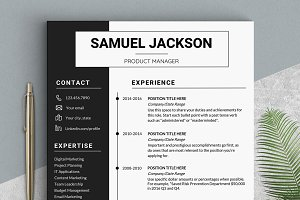 Word Resume Template - CV Design