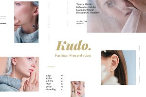 Kudo Fashion Presentation Template