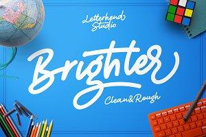 Brighter - a bold script 50% OFF
