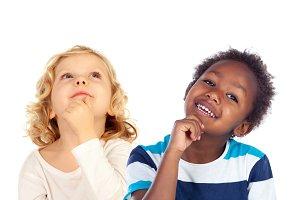 Pensive children