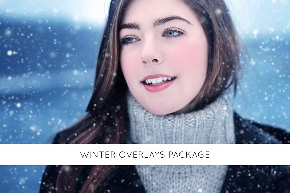 Winter overlays package in Objects
