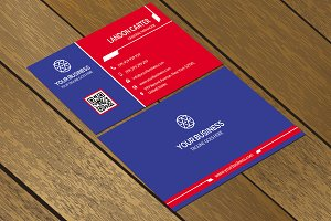 CT080 Corporate business card