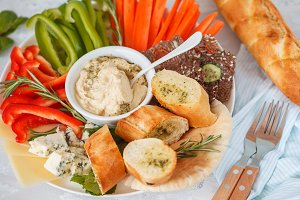 appetizers for hummus