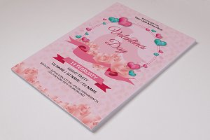 Valentine's Day Party Flyer V728