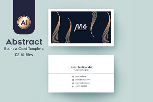 Abstract Business Card Template - 35