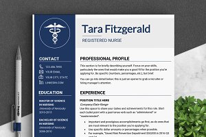 Nursing RESUME Template / MS Word