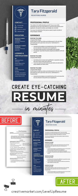 Nursing RESUME Template MS Word