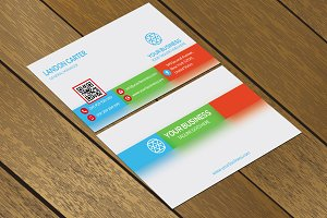 CT081 Corporate business card