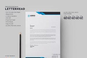 Modern Letterhead
