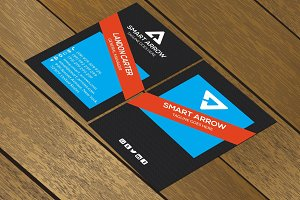 CT083 Corporate business card